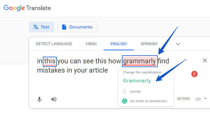 use grammarly